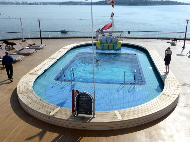 Seattle, Washington - Aft Pool