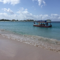 Bridgetown, Barbados - The beach at the Boatyard