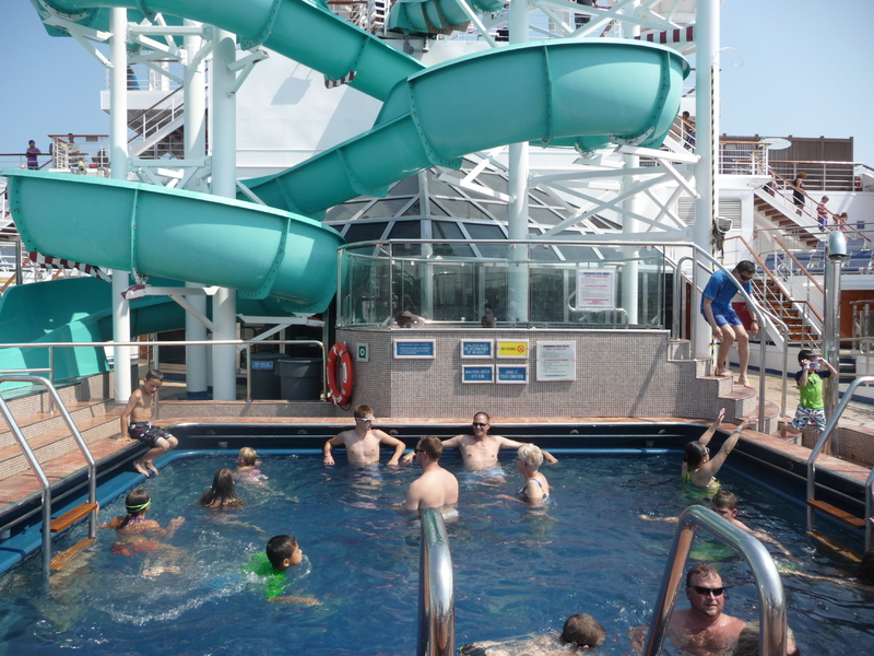 Pool & Slide - Carnival Freedom