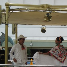 Mazatlan, Mexico - On board the Veendam