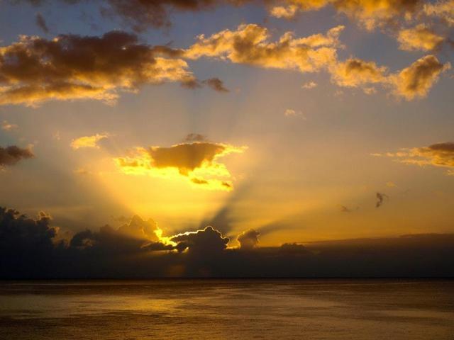 Sunrise over Lanzarote