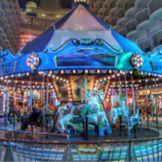 Carousel on Allure of the Seas