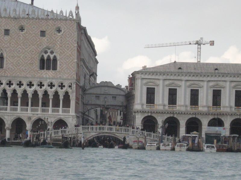 Venice--Bridge of Sighs - Pacific Princess