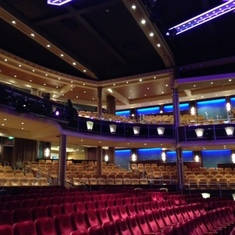 Freedom of the Seas main theater