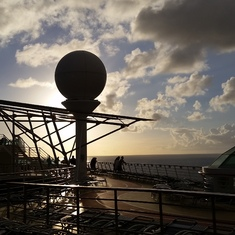 "Basseterre, St. Kitts - A ""naval eclipse"""