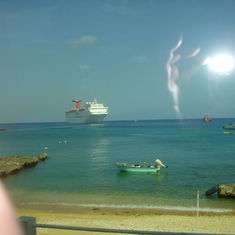Our ship from Grand Cayman