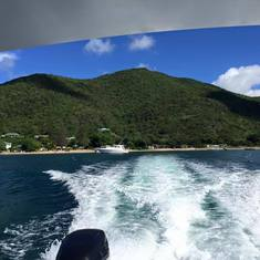 Basseterre, St. Kitts - Leaving Nevis