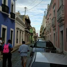 Old San Juan Streets