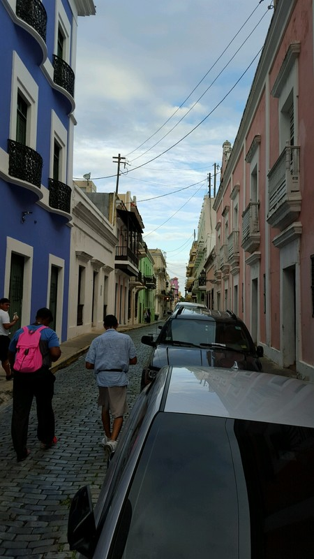 Old San Juan Streets - Celebrity Silhouette