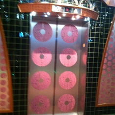 Lots of pink polka dots!, Carnival Splendor