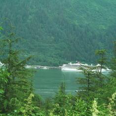 Juneau, Alaska - Juneau from Douglas Island