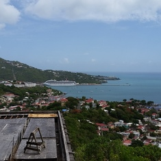 Philipsburg, St. Maarten - View from the hills