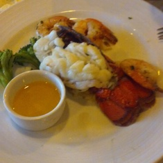 lobster tail, yummy