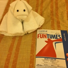 Grand Turk Island - Towel animal