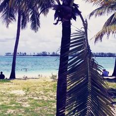 Nassau, Bahamas - Junkanoo Beach, Nassau.
