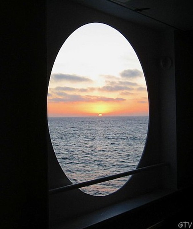 Sunrise at sea - Radiance of the Seas