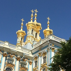 St. Petersburg, Russian Federation - Catherine's Palace