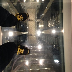 Quantum of the Seas Glass Floor