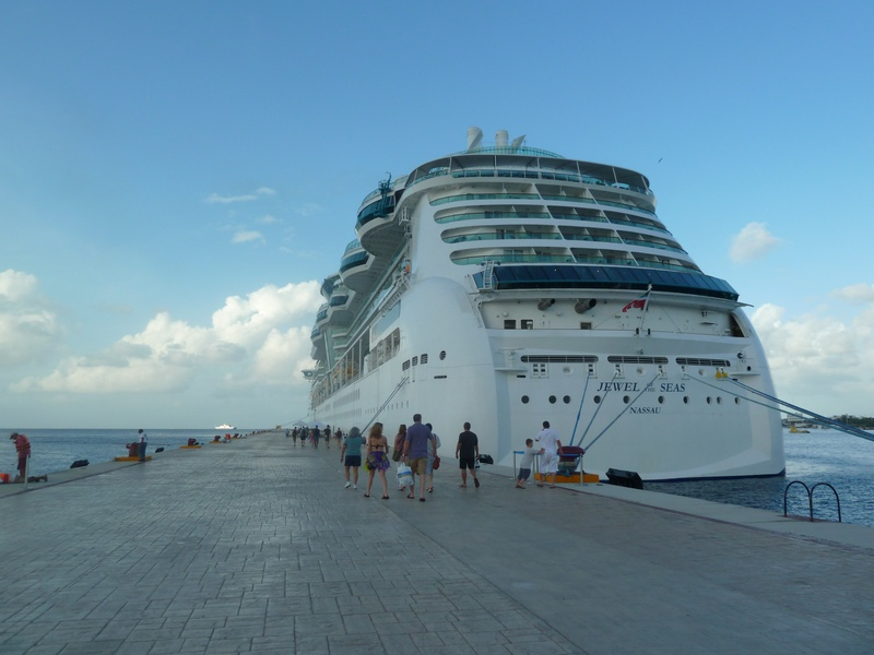 Jewel of the Seas in Cozumel - Jewel of the Seas