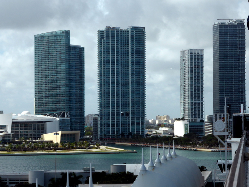 Ft. Lauderdale from the Ship - MSC Divina