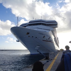 Philipsburg, St. Maarten - Our lovely ship!