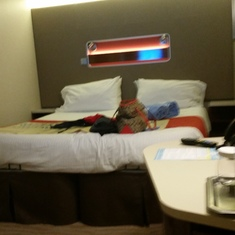 Our comfy room