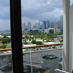 Leaving Miami!