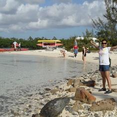 Freeport, Grand Bahama Island - Getting ready to go kayaking