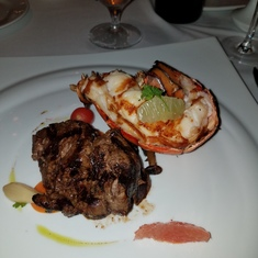The Chef''s Art Steakhouse on Carnival Dream