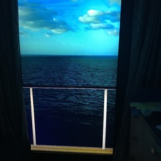 Virtual Window in Cabin, Really nice