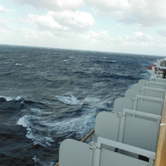 Crossing to Bermuda: Choppy Seas