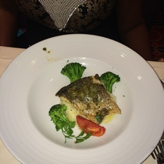 Charlotte Amalie, St. Thomas - Captain's dinner