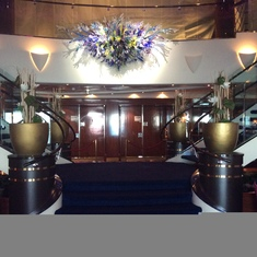Palatial Staircase aboard the GEM