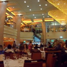 Inside the Blush Restaurant for formal dining