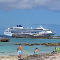 Great Stirrup Cay (Cruiseline Private Island), Bahamas - Norwegian Sky