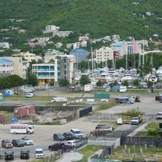 The port area