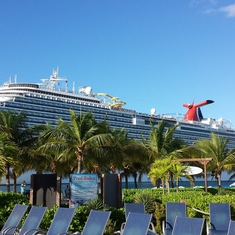 Grand Turk Island - View of the Breeze from Grand Turk