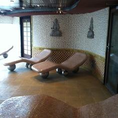 Eucalyptus-scented relaxation room, Carnival Splendor
