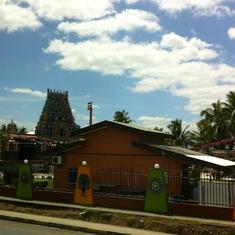 Nadi, temple
