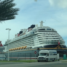 Getting there. Port Canaveral