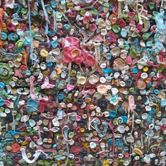 Seattle, Washington - Gum Wall--Seattle, WA