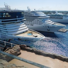 The Norwegian Epic, MSC Divina & Grandeur of the Seas