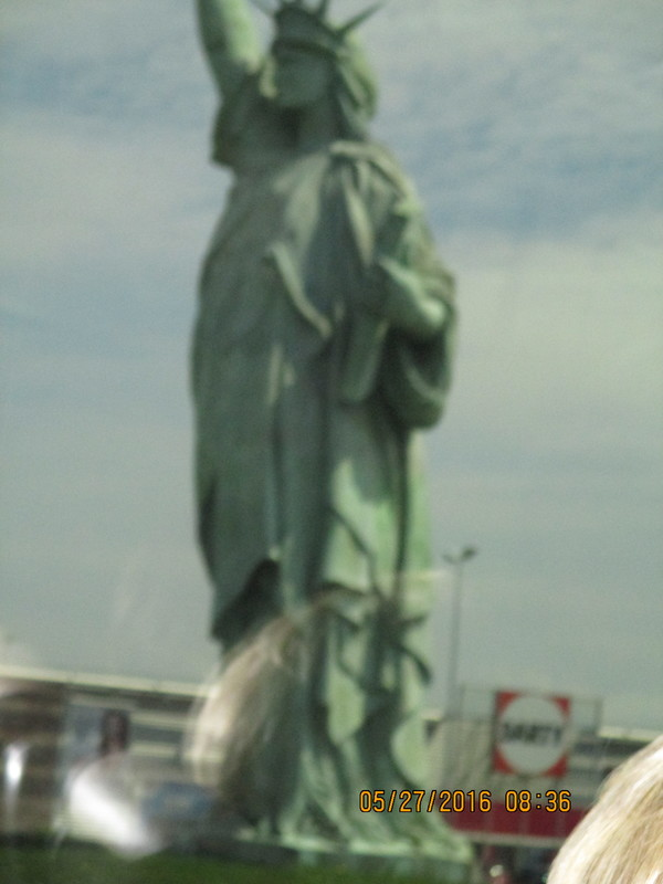 Statue of Liberty in France - Viking Tialfi