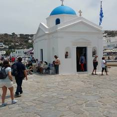 Mariners church on Mykonos