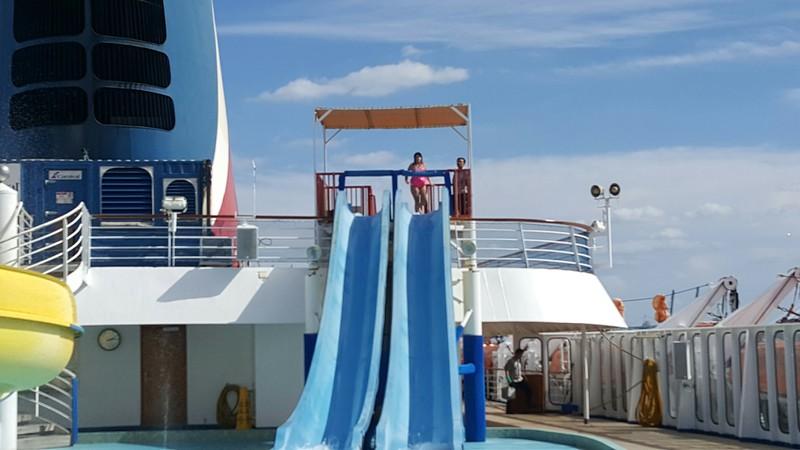Carnival Sensation, Pools, Carnival Waterworks
