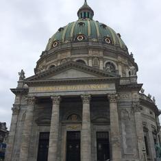 Marble church in Copenhagen