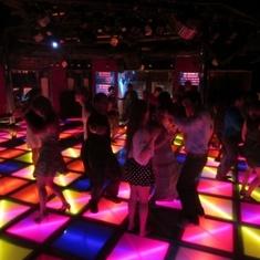 fun in the disco