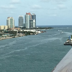 Miami, Florida - Leaving from Miami
