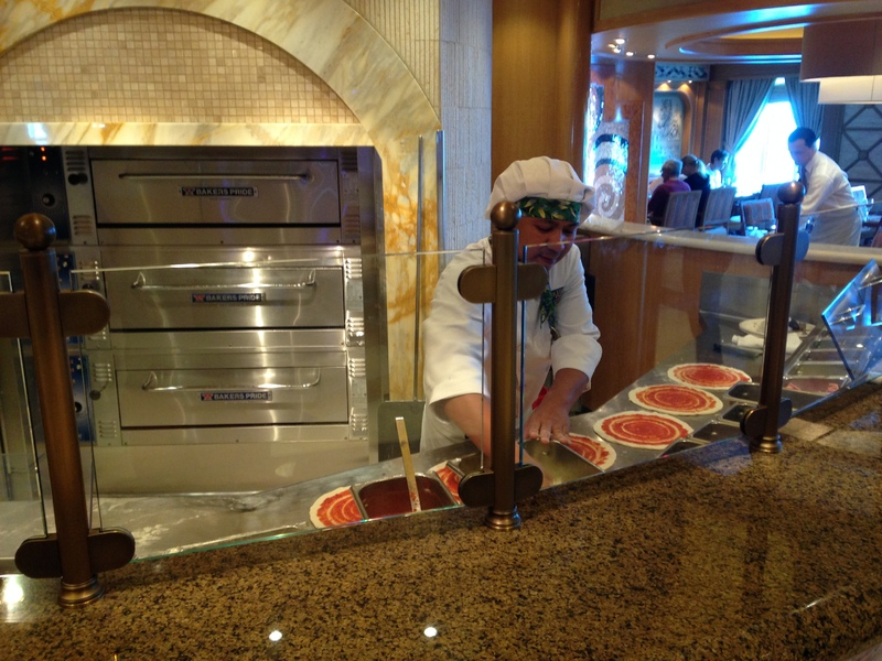 Photo Of Sapphire Princess Cruise On Nov 23 2013 Alfredo S Pizzeria