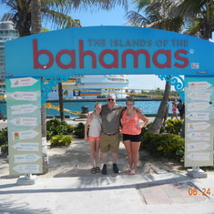 Nassau, Bahamas - First cruise, first port